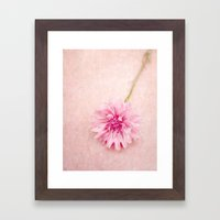 English Beauty  Framed Art Print