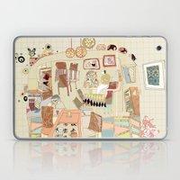 ---garden--cafe--- Laptop & iPad Skin