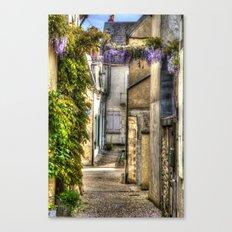 Village Pouilly-sur-Loire France Canvas Print