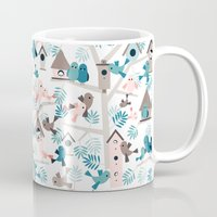 Bird family tree Mug