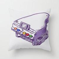 Classical Hero Throw Pillow