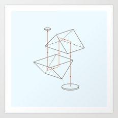 Prisms & Lenses - Binocular Art Print