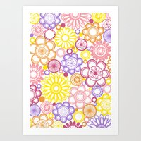 BOLD & BEAUTIFUL Summert… Art Print