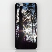 Sunlight In The Dark For… iPhone & iPod Skin