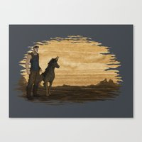 Loyal Companion Canvas Print