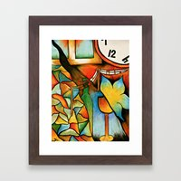 Double Framed Art Print