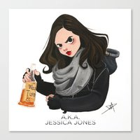 Jessica Jones Canvas Print