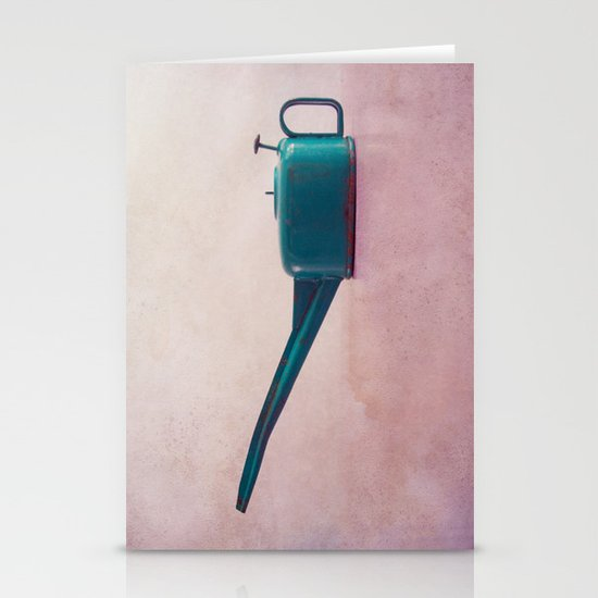 oilcan Stationery Card