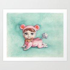 Baby Pootsy Art Print