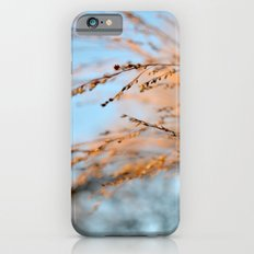 golden leaves against a blue sky. iPhone 6 Slim Case