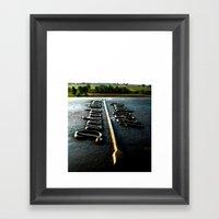 [1280 Yards] As The Bird… Framed Art Print