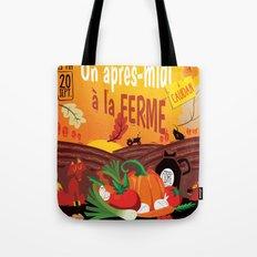 Un après-midi à la ferme : automne Tote Bag