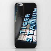 Tiger Stadium  iPhone & iPod Skin
