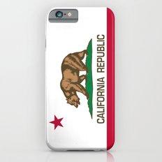 California Republic state flag - Authentic High Quality Version iPhone 6s Slim Case