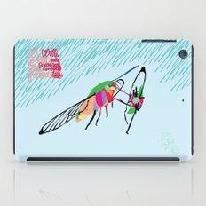 Bringing what I got [MOTH] [COLORS] [RAIN] [GIVEN] [GIVE] iPad Case