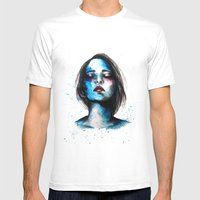 Sail // Fashion Illustration Mens Fitted Tee White SMALL