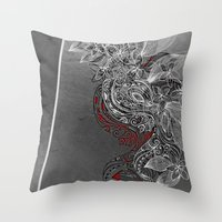 Earth Dance Throw Pillow