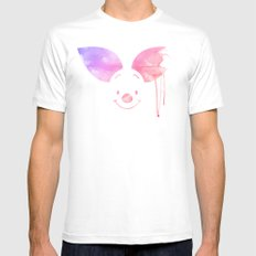 Always Forever - Piglet Mens Fitted Tee White SMALL