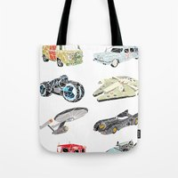 The Iconic Transportation Units Tote Bag