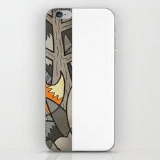 Fox in the Woods iPhone & iPod Skin