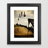 Kugimura Kota Sequence, FMX Japan Framed Art Print