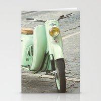 Mint Moto - Bruges Belgium Photography Stationery Cards