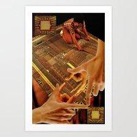 Tesrawa Tapestry Art Print