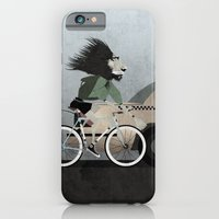 iPhone & iPod Case featuring Alleycat Races by Wyatt Design