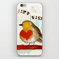 Tjirp Tjirp iPhone & iPod Skin