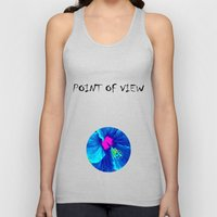 Intimate Blue Unisex Tank Top