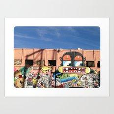 Street Things  Art Print