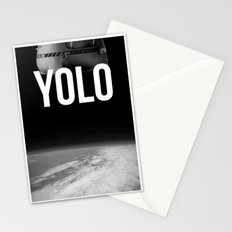 Felix Baumgartner YOLO Stationery Cards