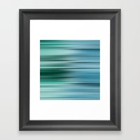 Misty Blue  Framed Art Print