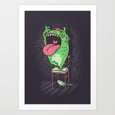 My worst fears Art Print