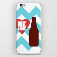 Love Me Some Beer iPhone & iPod Skin