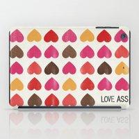 LOVE ASS iPad Case