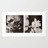 Bloom again Art Print