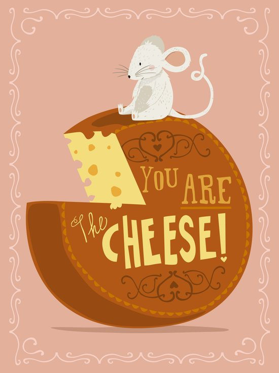 You are the Cheese! Canvas Print
