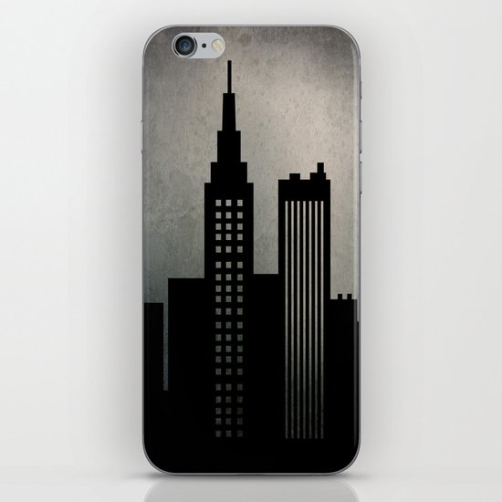 City Skyline  iPhone & iPod Skin