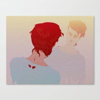 ANTIMATTER Canvas Print