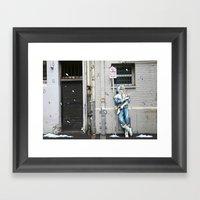 Living In The Material W… Framed Art Print