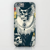 lady iPhone & iPod Cases featuring Lady by Ali GULEC