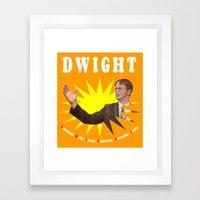 Dwight Schrute  |  The Office Framed Art Print