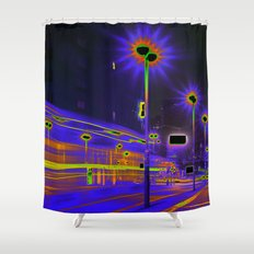 GHOSTHOUR - BERLIN Shower Curtain