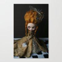 BAROQUE MARIE ANTOINETTE… Canvas Print