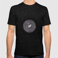 Gravity Mens Fitted Tee Tri-Black SMALL