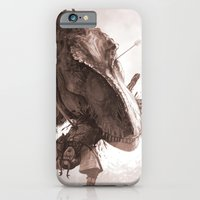 T. Rex Vs Samurai iPhone 6 Slim Case