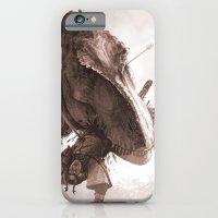 T. Rex Vs Samurai iPhone 6 Slim Case