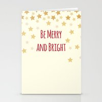 Be Merry and Bright Stationery Cards