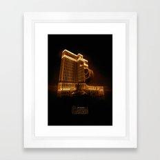Casino Framed Art Print